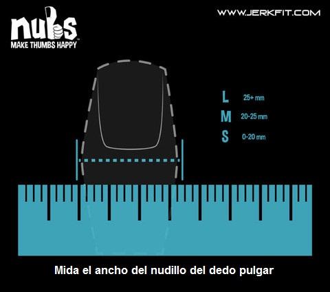 Tabla de tallas Nubs